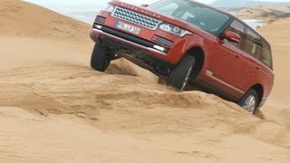 2013 Range Rover TEST DRIVE in the Sand Dunes [HD]