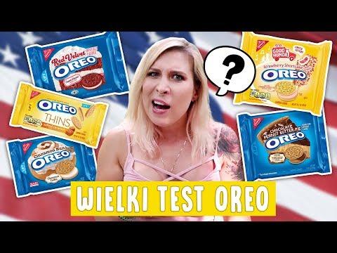 Wielki test OREO z USA - 8 smaków! 😱 Aga Testuje #42 | Agnieszka Grzelak Vlog