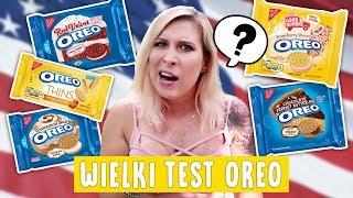 Wielki test OREO z USA - 8 smaków!  Aga Testuje #42 | Agnieszka Grzelak Vlog