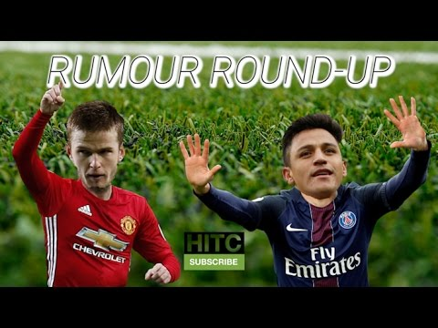 Dier Wanted By Man Utd? Sanchez Leaving Arsenal? Transfer Rumour Round-up