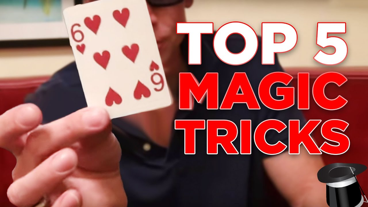 Learn 5 Magic Tricks You Can Do At Home (Revealed!) - YouTube