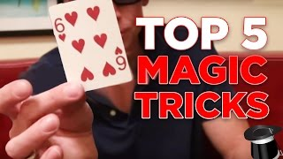 Learn 5 Magic Tricks You Can Do At Home (Revealed!)