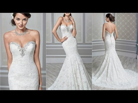 Elegant Wedding Dresses | Wedding Dresses | Wedding Gowns | Mermaid Style Wedding Dresses | WD34
