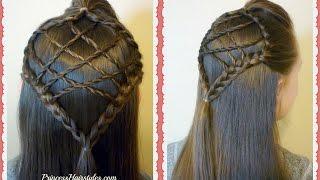 Easter Hairstyles, Braided Dream Catcher Hair Tutorial