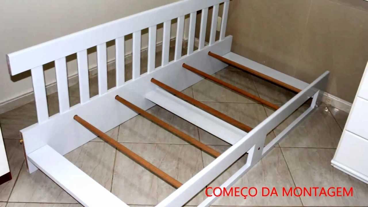 Cama infantil dedicada ao filho youtube - Escalera cama infantil ...