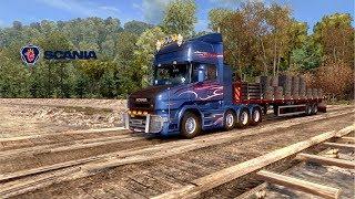ETS2 1.28 Southern Region 6.5.2 Scania T Chinars to Dzhubga
