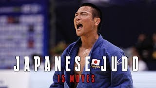 Watch the Judo skills of Japan national team in 15 Moves