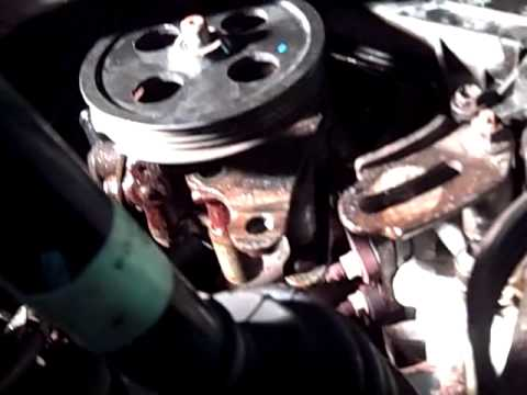 toyota avalon power steering pump replacement how to youtube. Black Bedroom Furniture Sets. Home Design Ideas