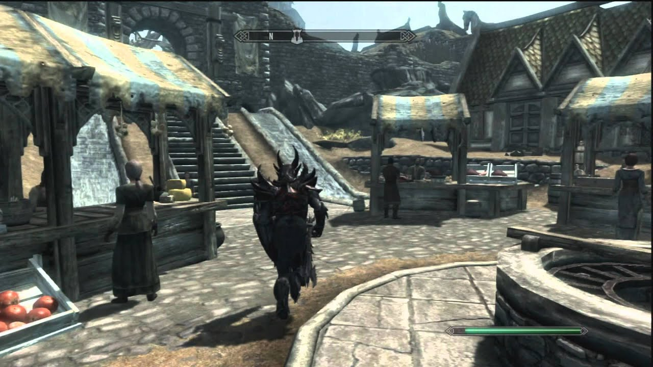 Elder Scrolls: Skyrim. Make Gold. Selling stuff and ...