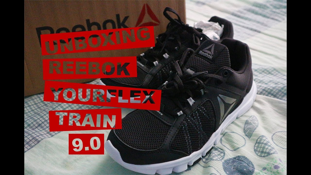 0f66feee687f94 Reebok Yourflex Train 9.0 MT Shoes Unboxing - YouTube