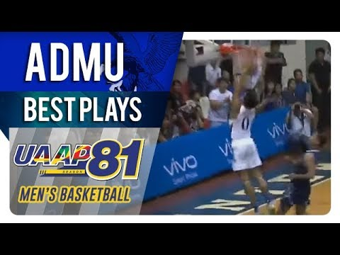 UAAP 81 MB: Thirdy Ravena with the exclamation slam against Adamson   ADMU   Best Plays