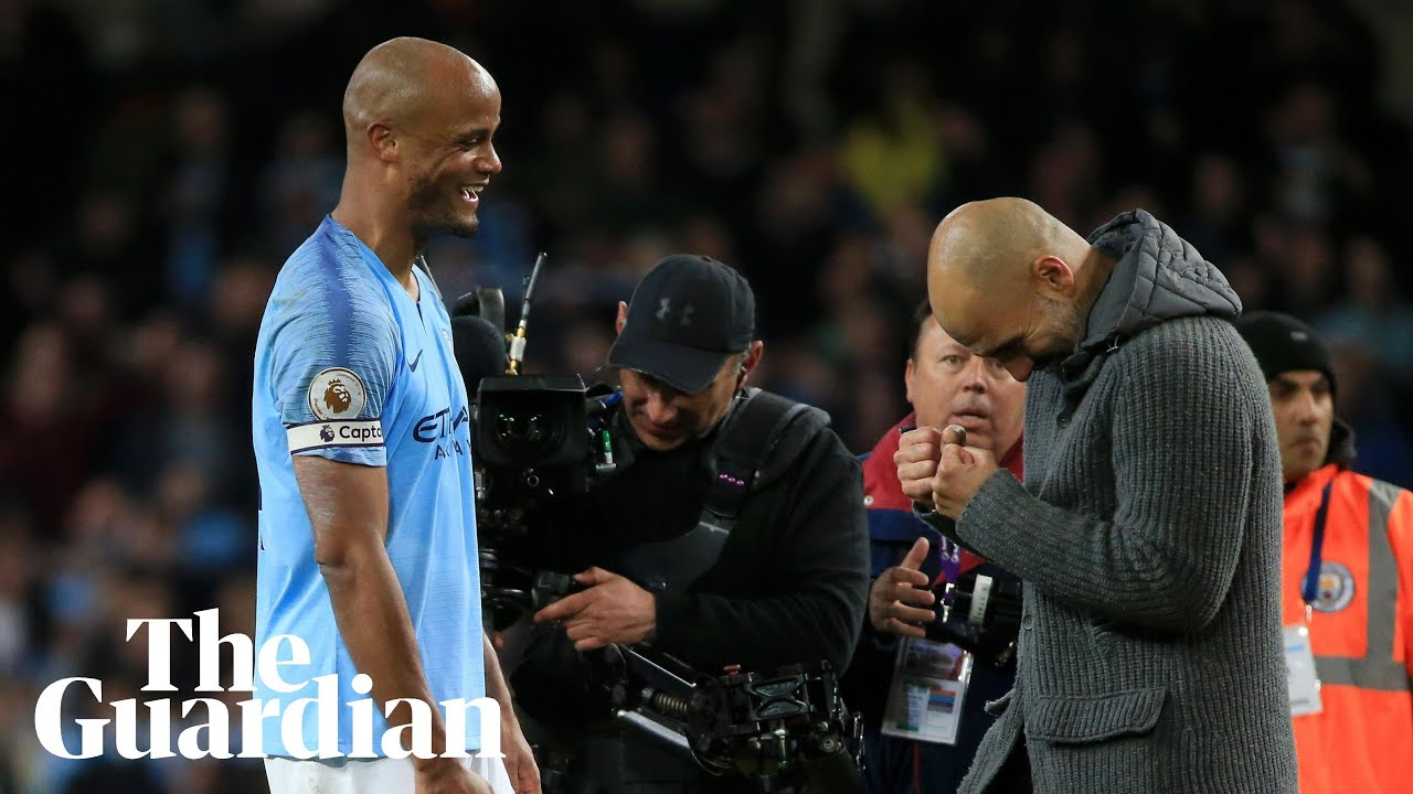 'I said no shoot Vinnie': Guardiola on Kompany's long-range stunner for Manchester City