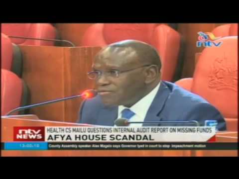 Senate health committee questions health CS and PS