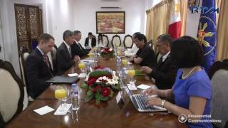 Meeting with the United States of America (USA) Ambassador to the Philippines 3/27/2017