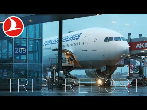PART 1 TRIP REPORT   Turkish Airlines   Chicago To Istanbul   777-300ER   Economy REVIEW