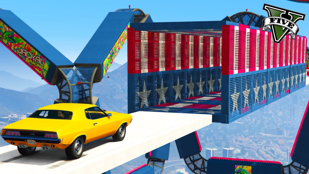 GTA 5 ONLINE - TUNNEL AMERICANO CON LA NUOVA BRAVADO GAUNTLET CLASSIC!!