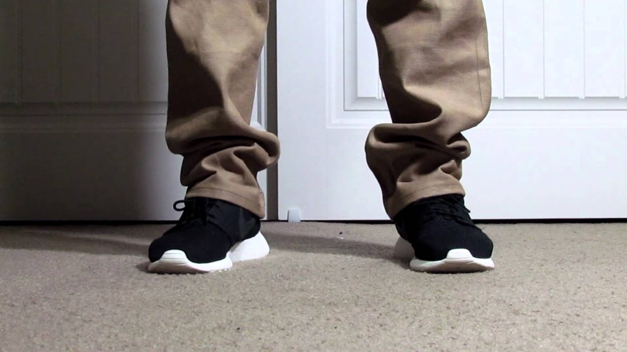 87137c7707e2f6 Solenography  Black Sail Roshe Run Review + On Feet - YouTube
