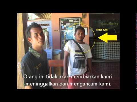 Motorbike Stolen in Kuta, Lombok (Indonesia)