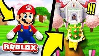 New BEST Mario Game in Roblox! *AMAZING*