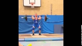 Marcin Smolarek 147 kg Stoßen