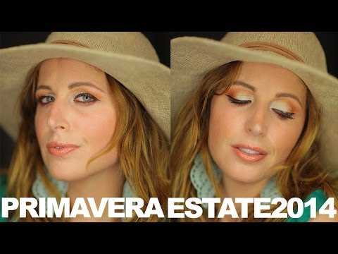 Makeup Tutorial Trucco Estate 2014 SUMMER IS COMING