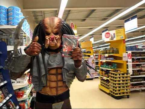 Predator Shopping in Tesco