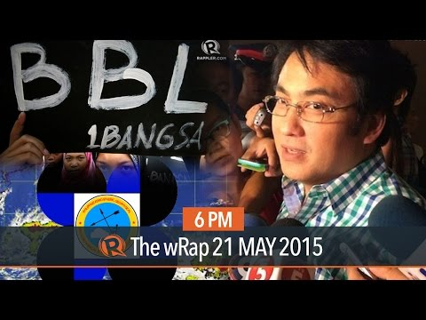 Revilla in 2016, Bangsamoro Basic Law, new storm signal, | 6PM wRap