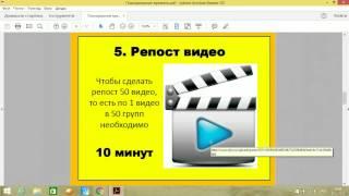 SMM - обучение день 4