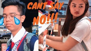 SAYA NYA!!! BOYFRIEND CAN'T SAY NO CHALLENGE | JADH