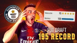 FUT DRAFT 195 RECORD MUNDIAL !!! FIFA 19 - DjMaRiiO