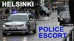 VIP Police Escort in Helsinki [FI | 6.2014]