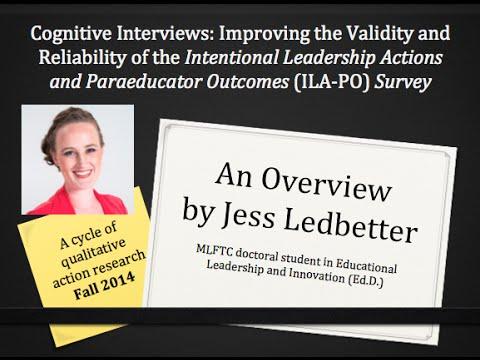 ILA PO Survey Presentation