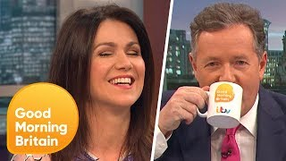 Piers Morgan and Susanna Reid Discuss Magazine Articles Written About Them | Good Morning Britain