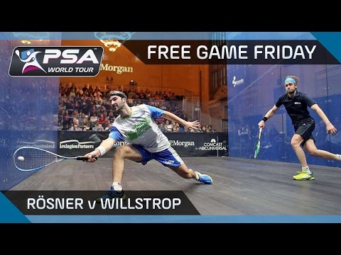 Squash: Free Game Friday - Rösner v Willstrop: Tournament of Champions 2016