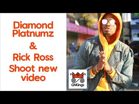 Diamond Platnumz & Rick Ross Shoot New Video | #GhKings