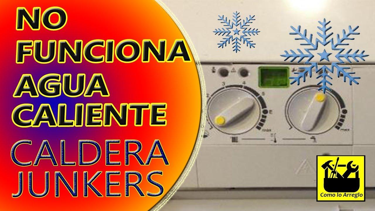 Caldera Junkers no sale el agua caliente - YouTube