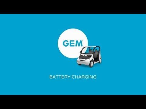 GEM Battery Charging Polaris GEM