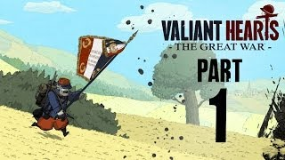 Valiant Hearts Walkthrough Part 1 - The Great War Begins - I LOVE THIS GAME