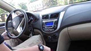 2014 Hyundai Accent GLS Test Drive смотреть