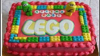 How to make a LEGO Birthday Cake /Lego Ninjago Cake Tutorial