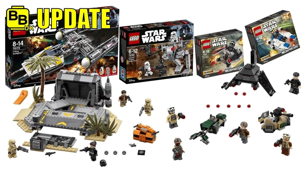 Lego Star Wars 2017 Rogue One Set Images News Update Youtube