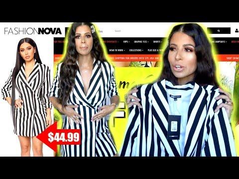 I TRIED $500 WORTH OF FASHION NOVA CLOTHING | TRY ON HAUL