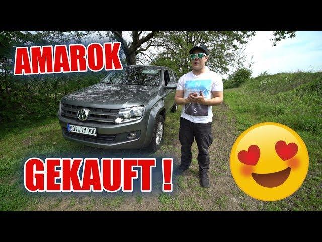 ENDLICH 😍 Der VW AMAROK ist DAAA !  ItsMarvin