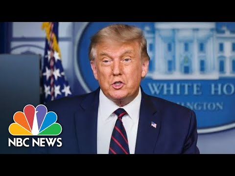 Live: President Trump Holds News Conference At White House | NBC News