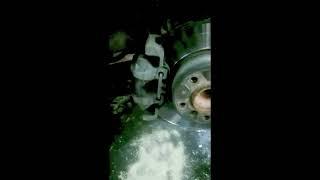 Ремонт BMW 3 series F30 - Замена колодок