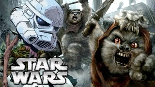did ewoks eat the stormtroopers star wars explained