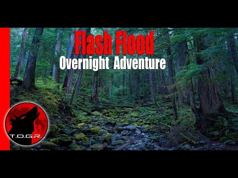 Flash Flood - Halloween Special - Ghost Hunt Backpacking Adventure