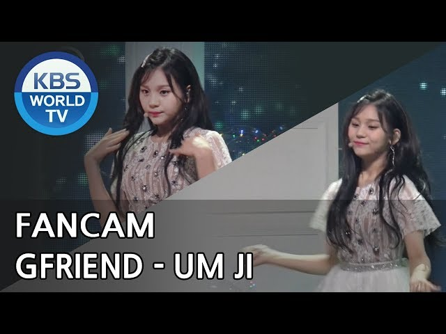 [FOCUSED] GFRIENDs UMJI - Time for the moon night [Music Bank / 2018.05.04]