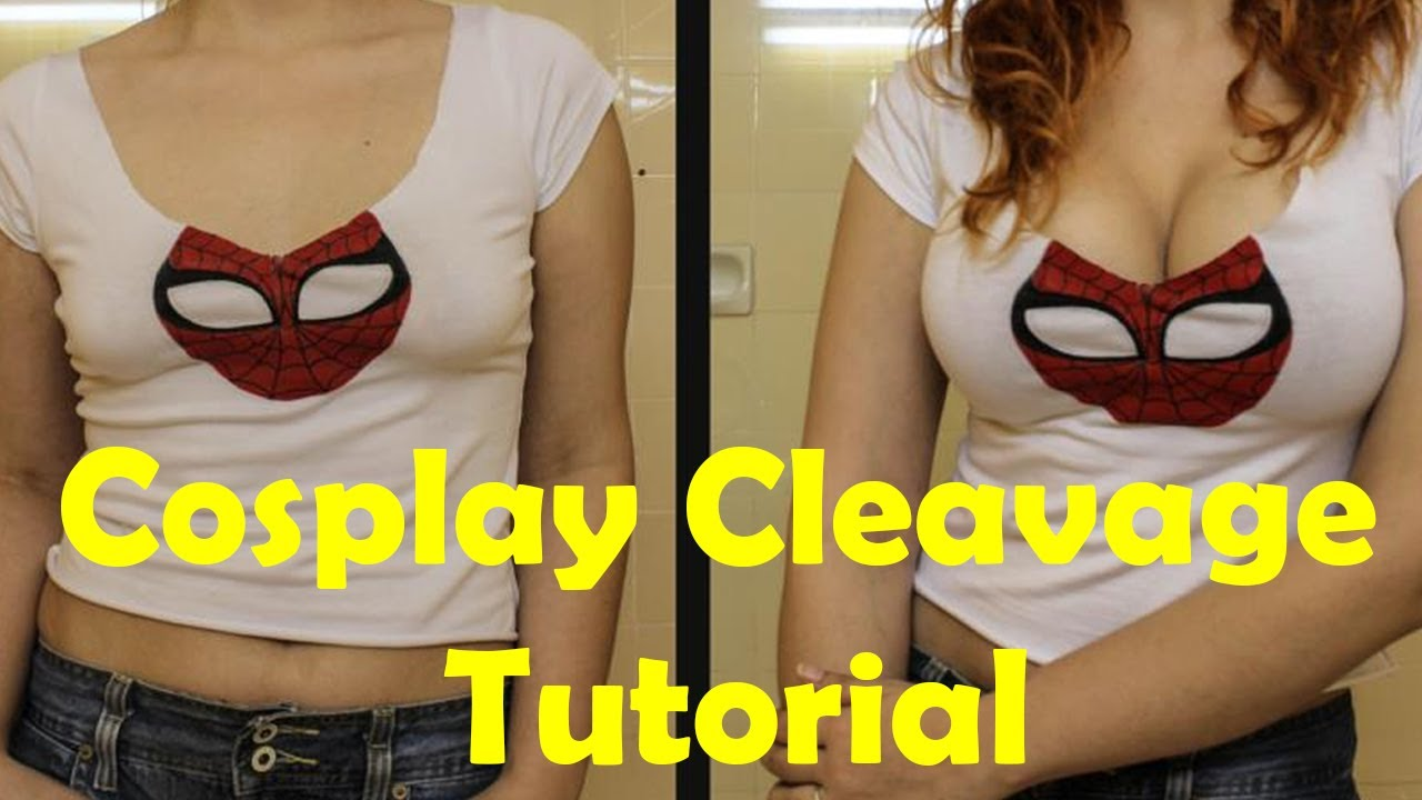 Cosplay Cleavage Tutorial Youtube