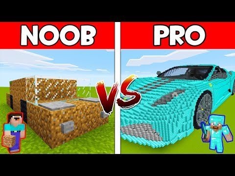 Minecraft - NOOB vs PRO : CAR in Minecraft ! AVM SHORTS Anim